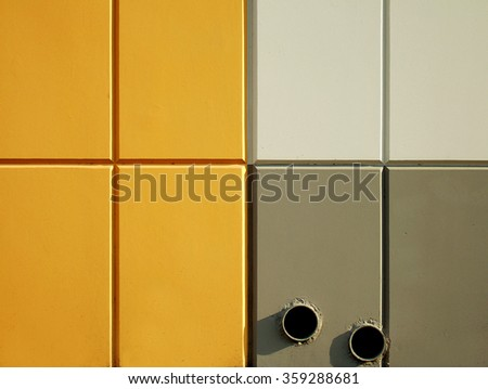 Yellow and Gray Geometric Background