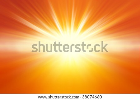 Yellow and orange background with copy space