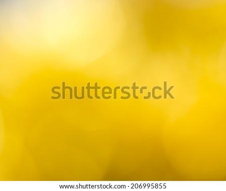 yellow background blur - stock photo