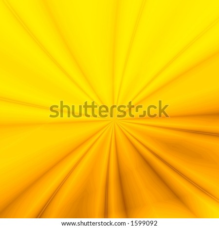 Yellow background illustration - stock photo