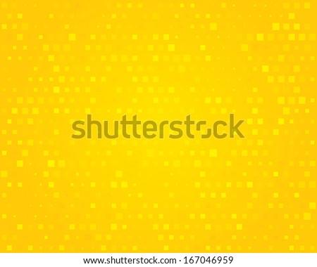 Yellow background. Illustration. - stock photo