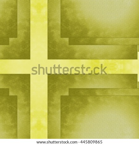 Yellow background texture with scratched lines grungy  - stock photo