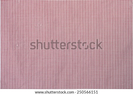 yellow-black plaid fabric - stock photo