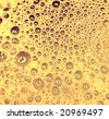 Yellow Bubbles - stock photo