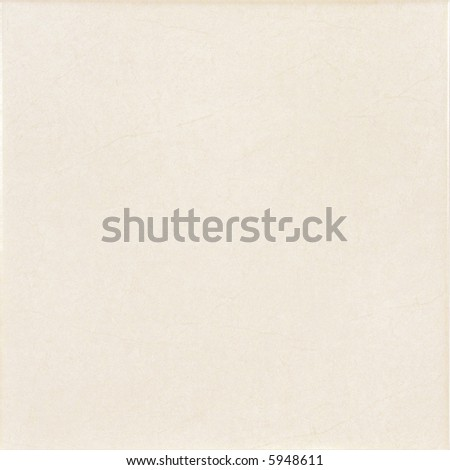 Yellow ceramic tile with light marble texture - stock photo