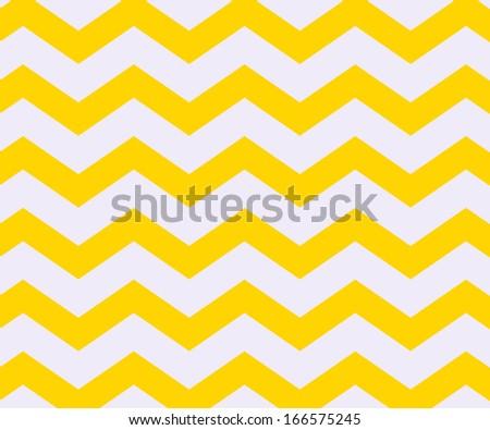 Yellow Chevron Texture - stock photo