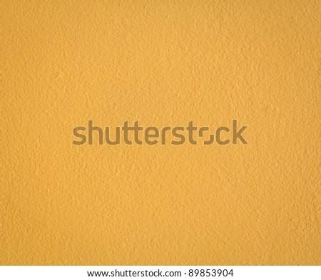 yellow concrete wall texture - stock photo