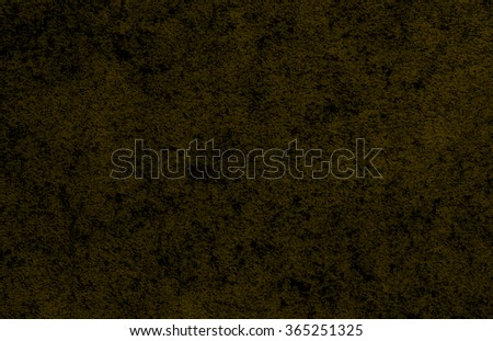 yellow dark wall background or texture - stock photo