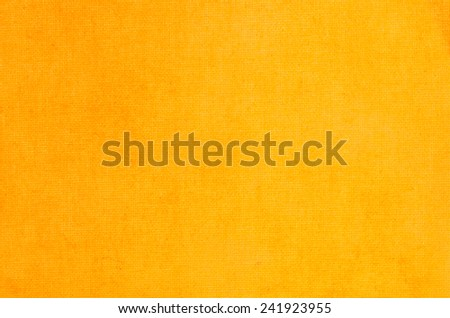 yellow empty abstract texture painted on art canvas background - stock photo