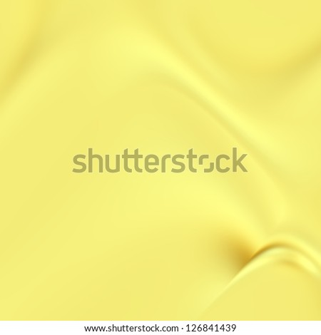 Yellow gold abstract futuristic background. For creative layout design, scientific illustrations, and web template or site wallpaper - stock photo