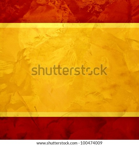 Yellow golden and red textured. golden design background - stock photo