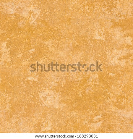 Yellow grunge wall texture , seamless background - stock photo