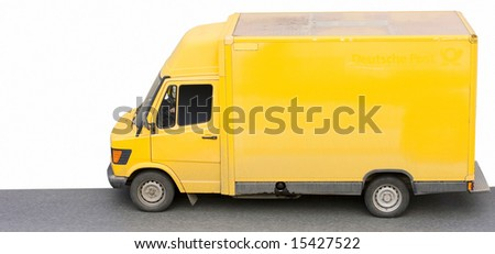 yellow hard toiler - stock photo