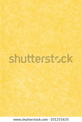 Yellow japanese abstract paper texture - stock photo