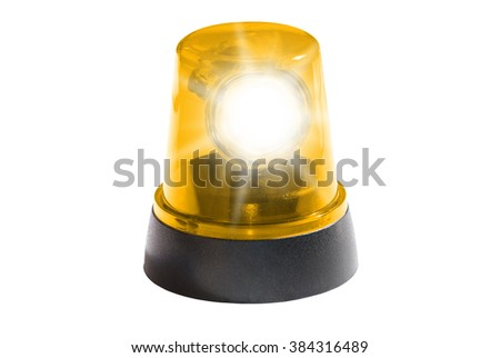 Yellow Light - stock photo