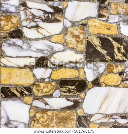 Yellow Marble Texture - stock photo