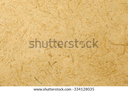 Yellow natural texture paper background - stock photo