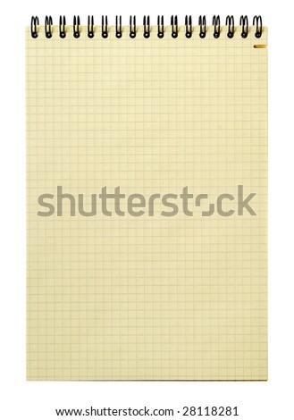 Yellow note - stock photo