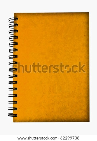 Yellow notebook