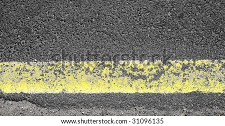 yellow road line