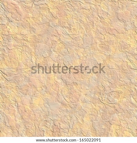 Yellow sandstone seamless background - stock photo