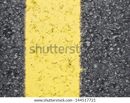 yellow  sign line