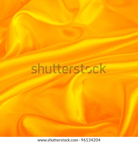 yellow silk as background