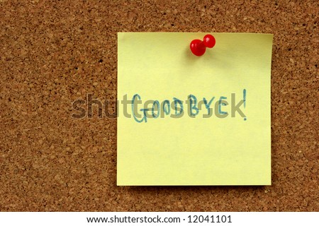 Yellow Small Sticky Note On Office Stock Photo 12041101 - Shutterstock