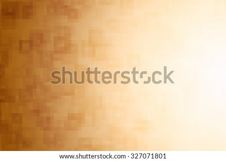 yellow square abstract background - stock photo