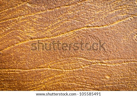 Yellow stone background with veins running through it. Lots of texture, detail and copy space. - stock photo