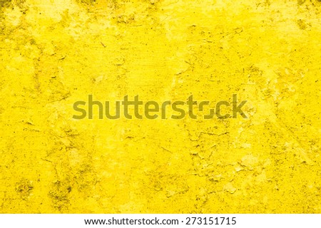 Yellow stone surface as a background image - stock photo