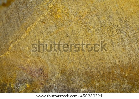 Yellow stone texture,select focus with shallow depth of field:ideal use for background. - stock photo