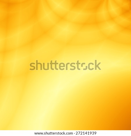 Yellow sunny abstract fun wallpaper backdrop - stock photo