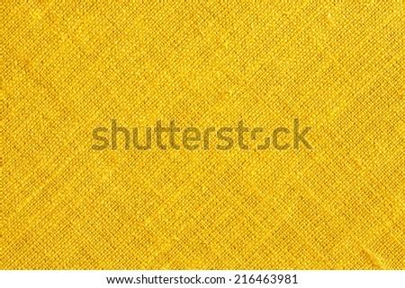 Yellow Textile Background./ Yellow Textile Background. - stock photo