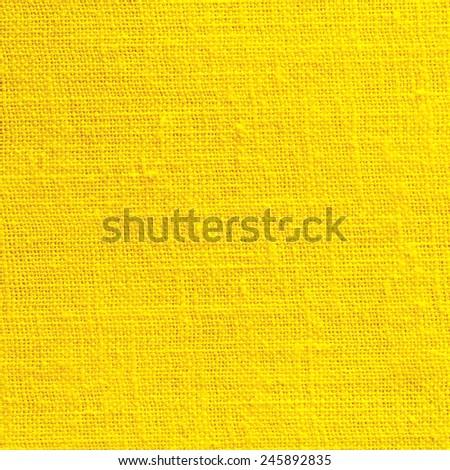 Yellow Textile Background/ Yellow Textile Background  - stock photo
