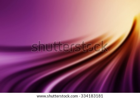 yellow to purple gradient abstract curve background - stock photo
