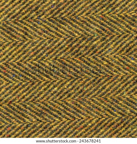 yellow tweed texture  as background