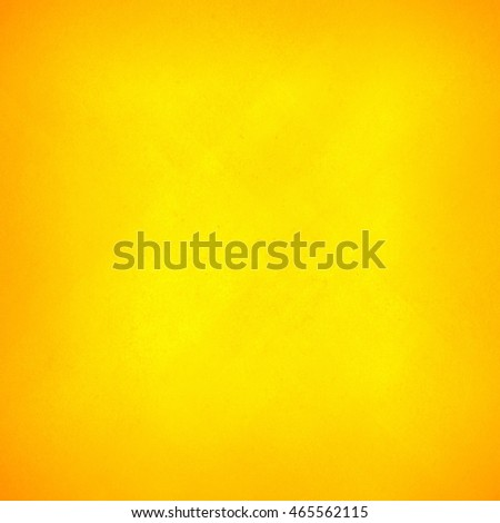 Yellow vintage background, abstract grunge texture canvas