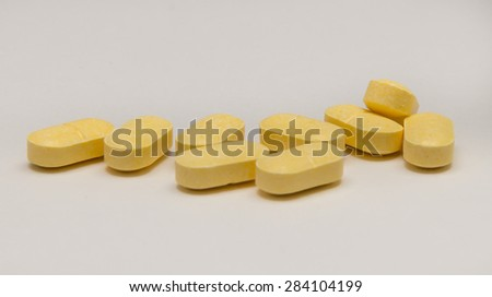 Yellow Vitamin or drug