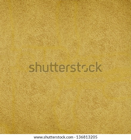 Yellow wall background or texture. hq xxl