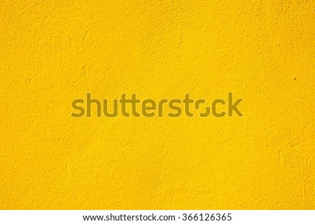 Yellow wall texture - stock photo