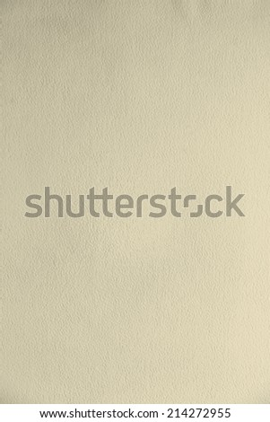 yellow watercolor textured paper background - stock photo