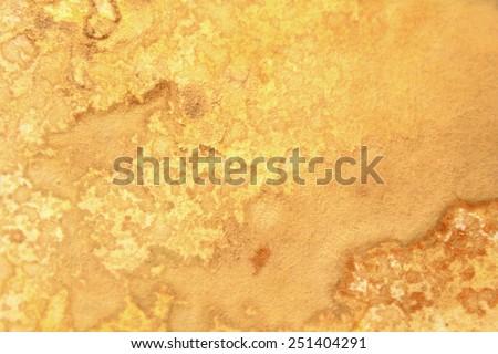 Yellow Watercolor Textures 4 - stock photo