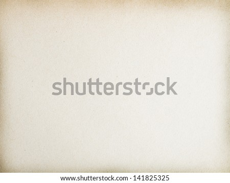 yellowed paper background time the country - stock photo