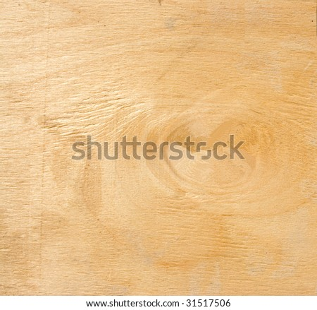 yellowed wood texture useful as background - stock photo