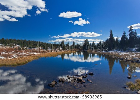 Yellowstone National Park: Beartooth Pass - stock photo