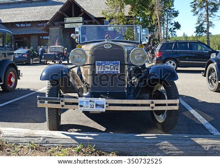 Town And Country Ford Charlotte >> 1930s Automobiles Stock Images, Royalty-Free Images ...