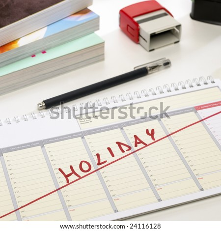 Yes...finally in holidays after a hard work !!! - stock photo
