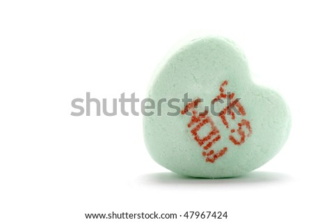 Yes Now - Candy Heart - stock photo