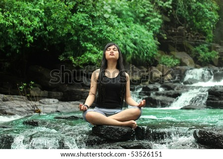 yoga in nature
